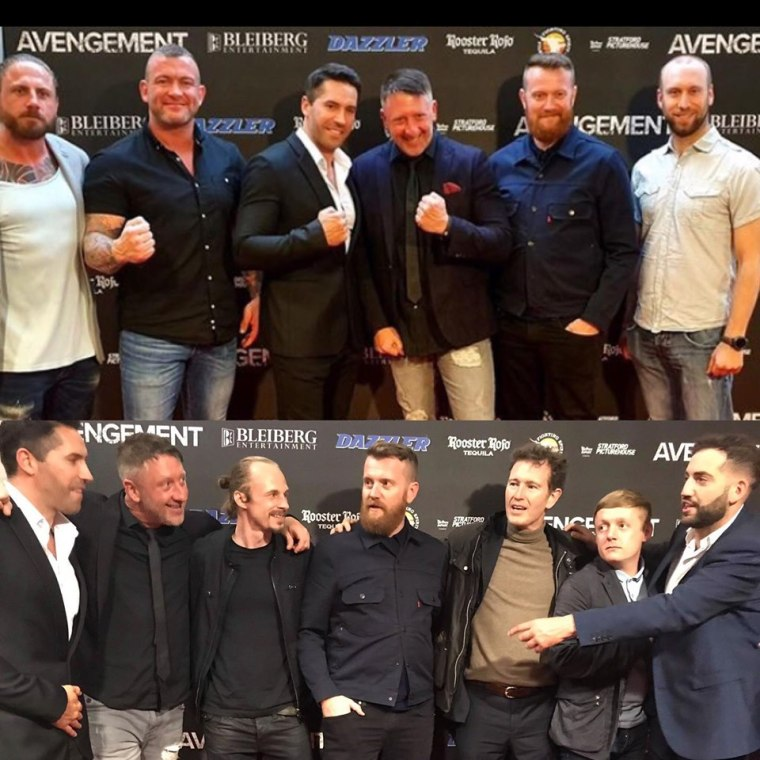 The Stars Come Out for the UK Premiere of AVENGEMENT!