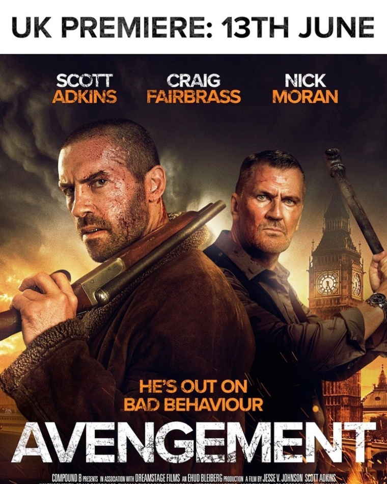 UK Fans! Hit Up the Premiere Of AVENGEMENT and See it On the Big