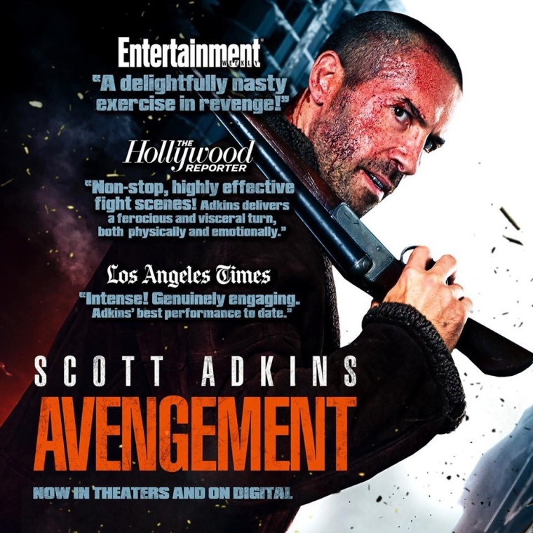 UK Fans! Hit Up the Premiere Of AVENGEMENT and See it On the