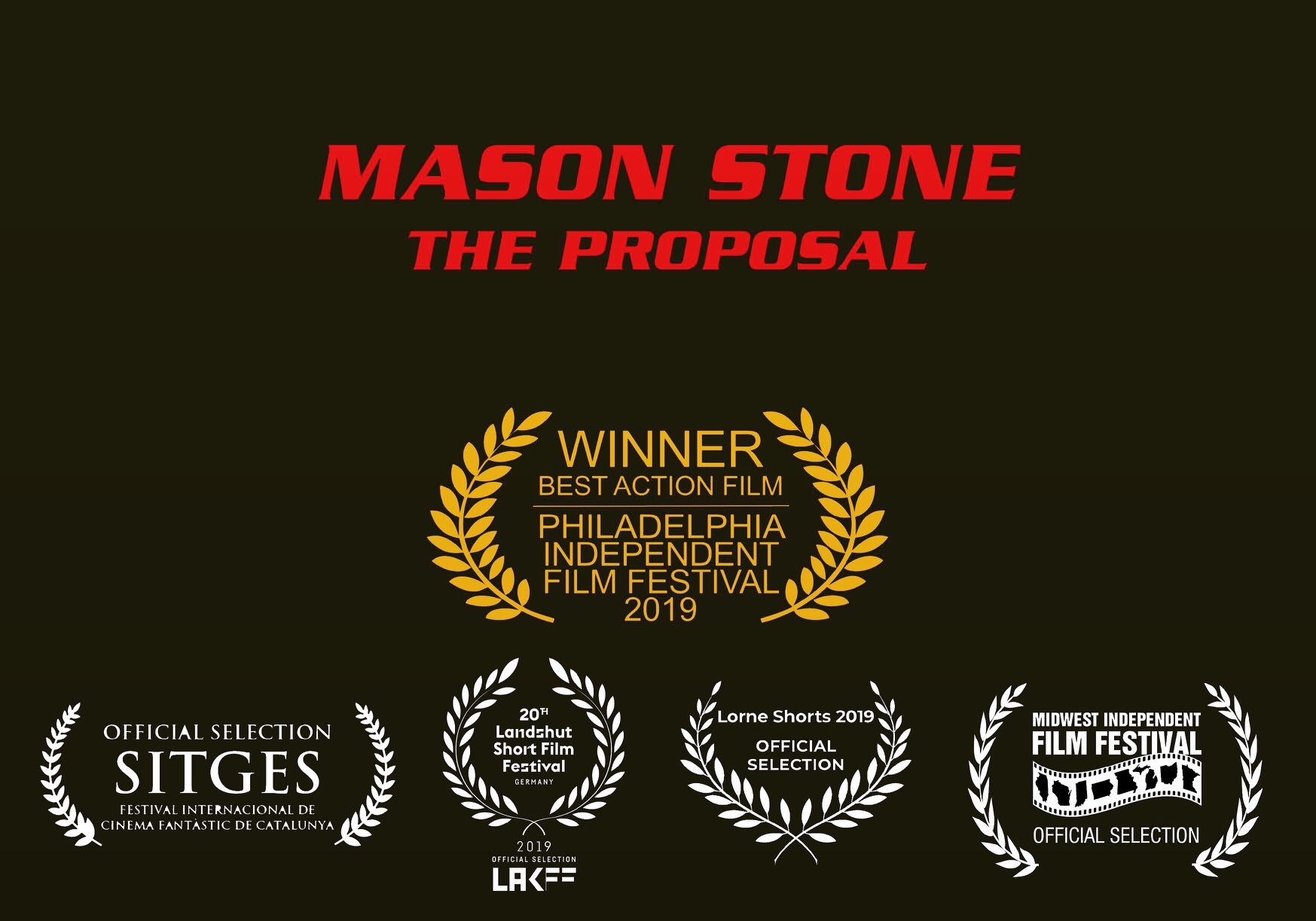 Mason Stone The Proposal The Feature Length Film Based On The Awesome Action Short Is On The Way Action Flix Com
