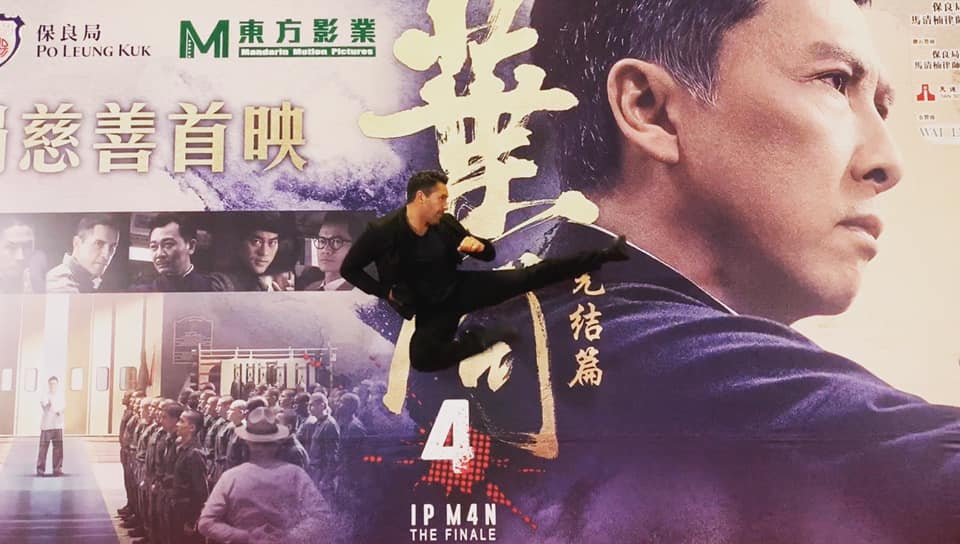 Scott Adkins Playfully Challenges Donnie Yen At The Hong