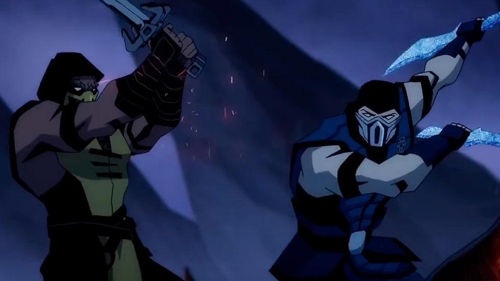 mortal kombat legends scorpions revenge poster hd